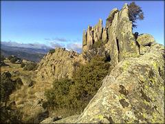 Sierra de La Cabrera granite