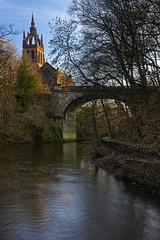 River Kelvin and the Kelvin Stevenson Memorial Church
