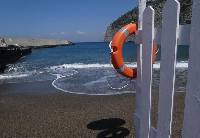 Hafen und Strand von Meta/ Sorrento