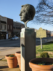 BRING ME THE HEAD OF WENDELL FORD on a pedestal.