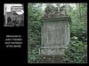 Nunhead Cemetery memorial to John Franklin & family 19 5 2007