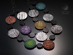Reversible Necklace (colored side)