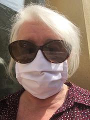 Christiane la Femme masquée / En attente devant le cabinet dentaire ......