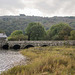 The single track bridge at Lake Padarn