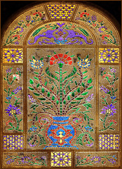 Izmir - Una finestra della Moskea - (508)