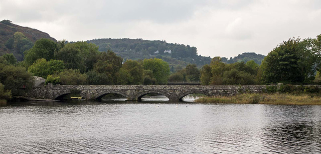 The single track bridge at Lake Padarn1