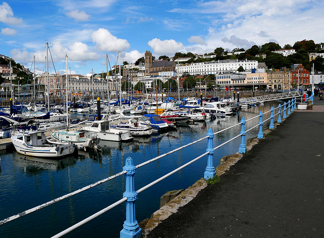 The harbour, Torquay.