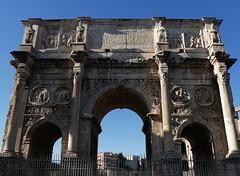 Der Konstantinsbogen - beim Forum Romanum