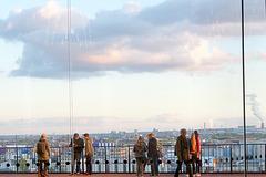 Hamburg Promenade Elbphilhatmonie