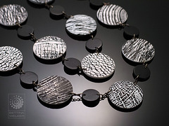 Reversible Necklace (b/w side)