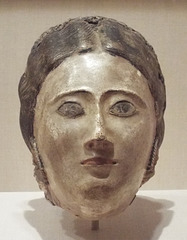 Mummy Mask of a Woman in the Virginia Museum of Fine Arts, June 2018