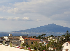 Golf von Neapel mit Vesuv