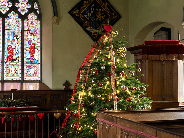 A Christmas HFF from St Giles church