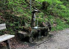 Brunnen am Wanderweg