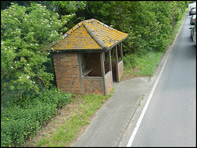 really nice bus shelter