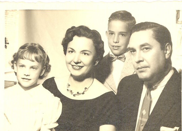Family about 1956