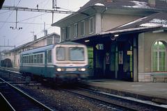 1986 Autorail SNCF Morges