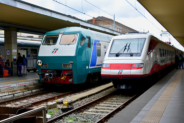 Turin 2017 – Trains at Porta Nuova railway station