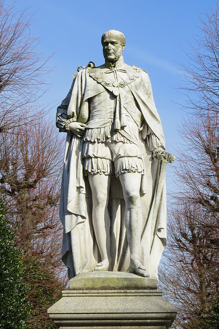 marquess of westminster statue, grosvenor park, chester