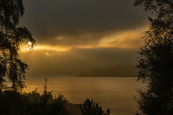 Mist on the Loch