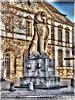 Landau in der Pfalz - Löwenstatue am Deutschen Tor