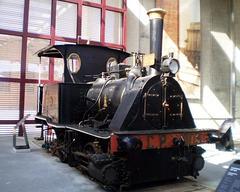 Steam locomotive (1890).