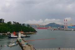 Rain clouds over DSME