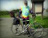 Aeronautical engineer with bike
