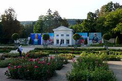 Baden, Orangerie & Rosarium / Orangery & Rosarium