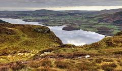 Bassenthwaite Lake from Derwent Fells