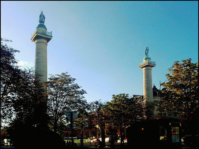 Portes de la Nation, Gates of Nation - Paris