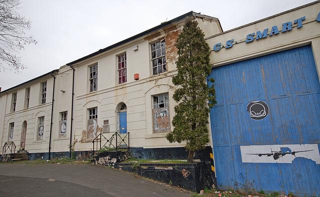 Abandoned Early Nineteenth Century Villas, Moseley Road, Balsall Heath, Birmingham