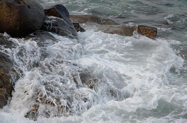 Marée haute (V à IX)