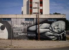 Baby's mural.