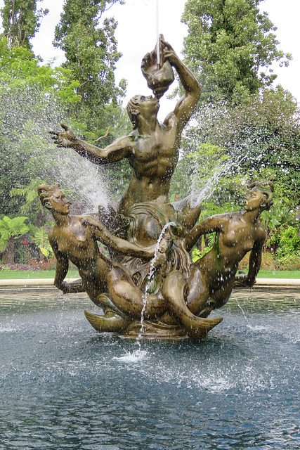 triton fountain, regent's park , london