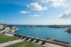 The Saluting Battery - Upper Barrakka Gardens, Valletta (© Buelipix)