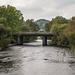 from the Lake Padarn single track bridge