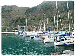der Hafen von Garachico