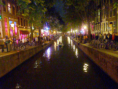 Amsterdam -  the red light district - (531)