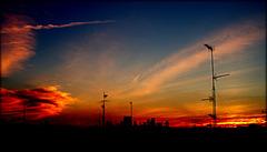 Sunset over Chamberí