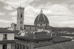 Florence rooftops with Duomo