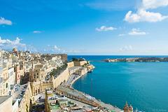 Aussicht von den Upper Barrakka Gardens, Valletta (© Buelipix)