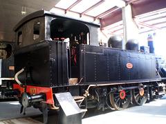 Steam locomotive (1891).