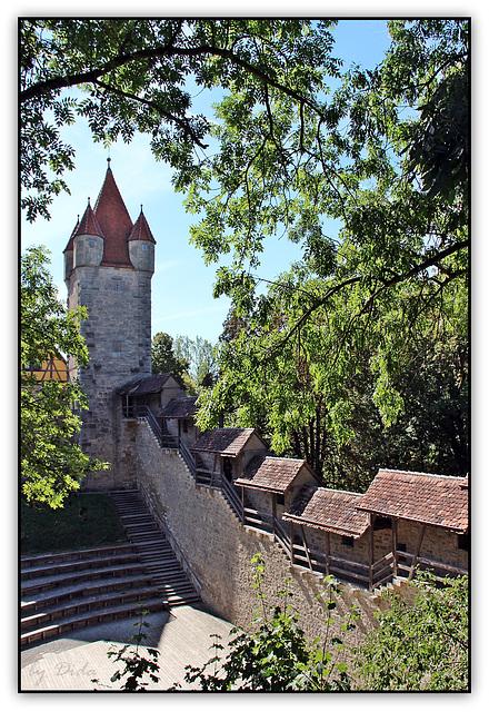 Rothenburg ob der Tauber - Stöberleinsturm
