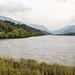 Lake Padarn on a misty day