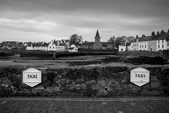 Taxi Rank, Anstruther Easter Looking towards the Dreel Halls in Anstruther Wester