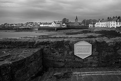 Harbour Master's Parking Space, Anstruther Easter Looking towards the Dreel Halls in Anstruther Wester