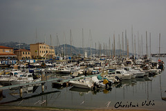 the port of San Remo