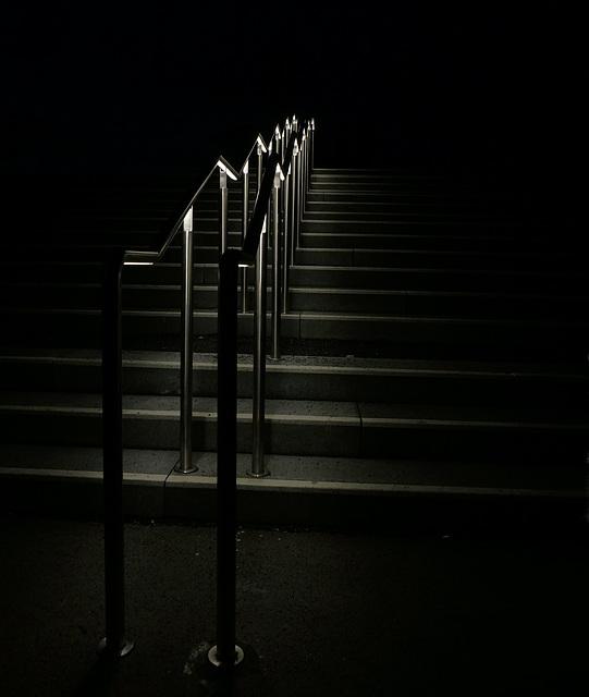 Treppenaufgang ins Nichts ......