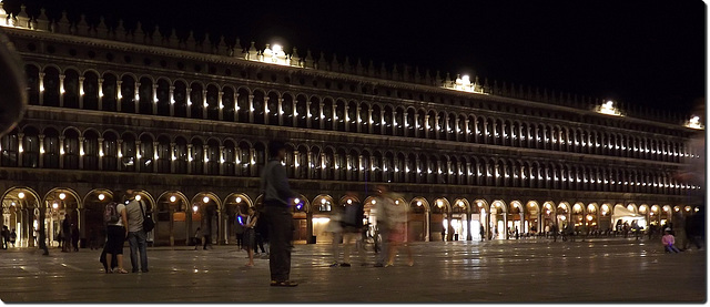 San Marco sq. by night